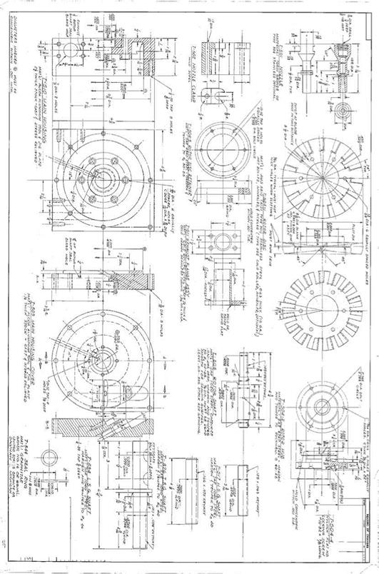 autocad drawings and dimensioning of t