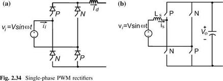 "single phase pwm rectifier thesis Pulse-width modulated rectifiers ""soft-switched single-switch three-phase rectifier with power factor iso- lated three-phase pwm rectifier system."