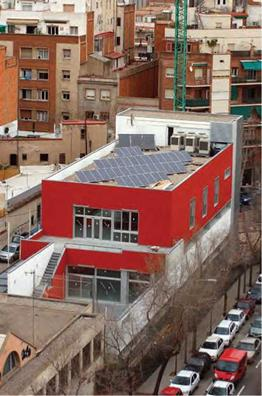 Demonstration PV projects in municipal buildings