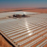 Cамая a large solar power thermal power plant of